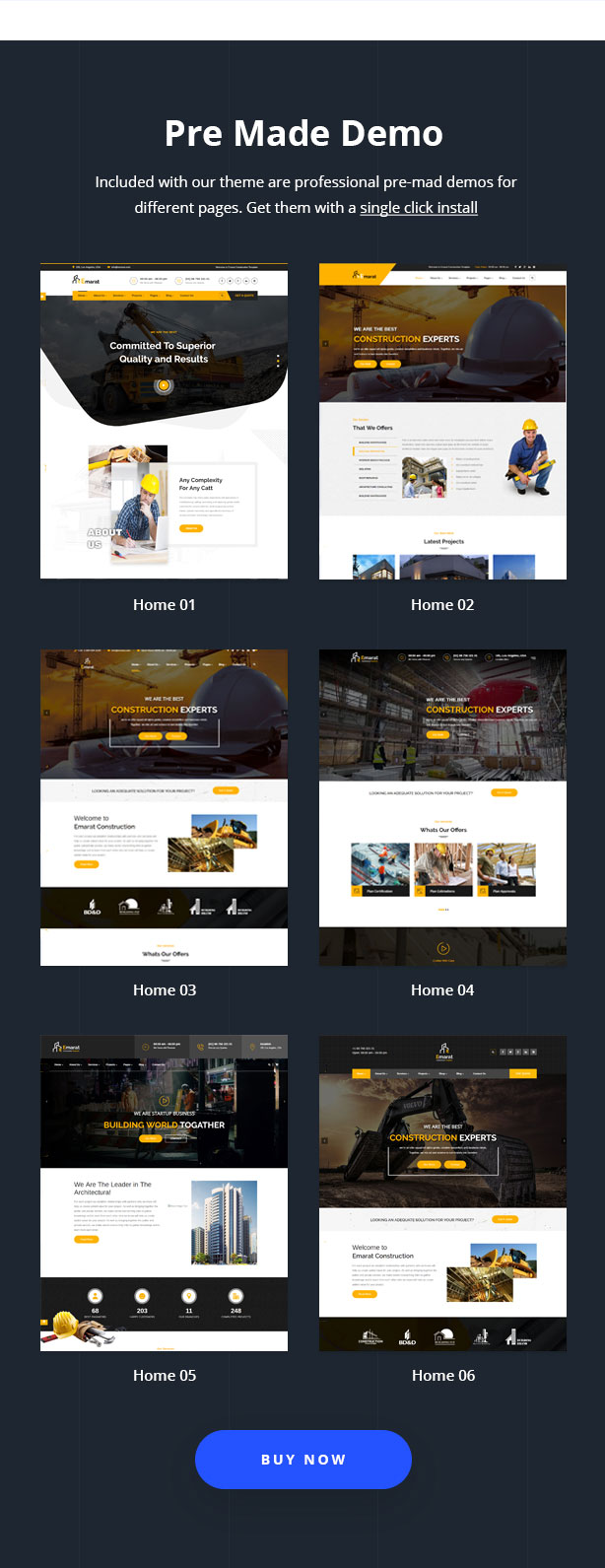 Emarat - Construction WordPress Theme - 11